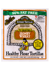 Honey Wheat Tortilla